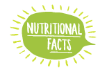 Illustration of Nutrition Facts Bubble Callout